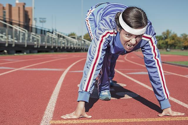 running from pain